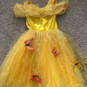 Costumes - Toddler Yellow Princess Dress Gown sz 2T/3T